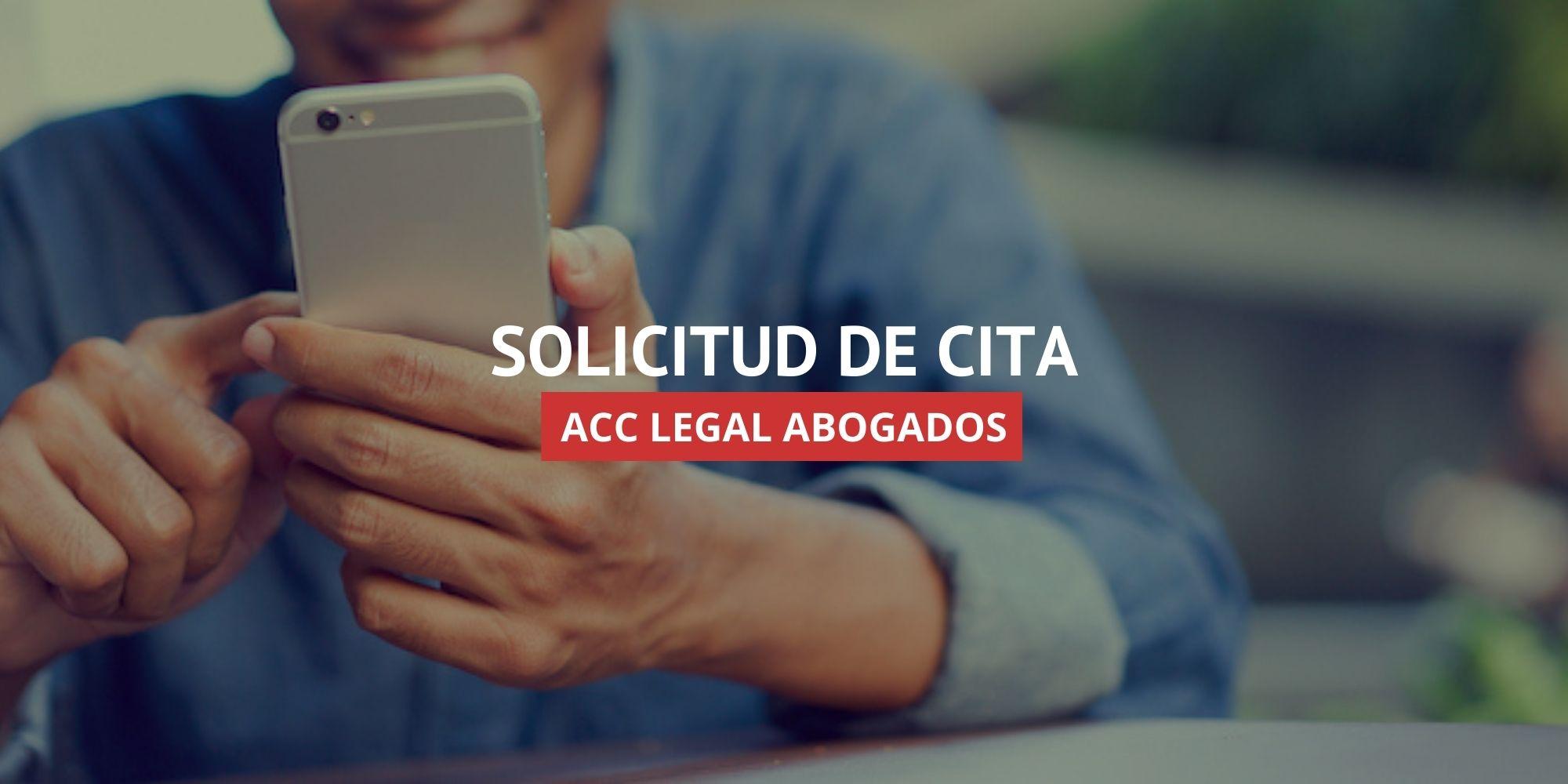 Abogados en Murcia - Solicitud de Cita | ACC LEGAL ABOGADOS